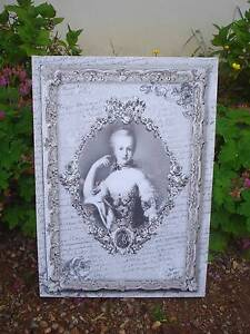 toile sur chassis tableau portrait marie antoinette mathilde m d co de charme ebay. Black Bedroom Furniture Sets. Home Design Ideas