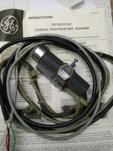 GE GENERAL ELECTRIC COAXIAL PHOTOELECTRIC SCANNER , 3S7505SC501