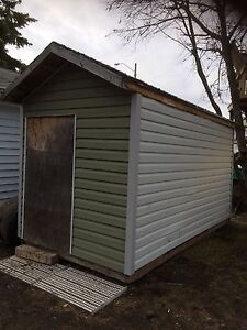 Sided shed.