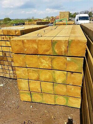 Timber fence posts 200x200x2.4m