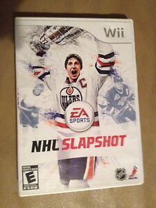 NHL Slapshot and NHL 2K11 for Wii