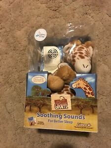 Soothing sounds giraffee