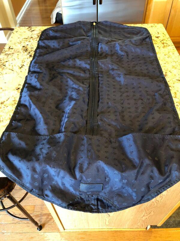 Brooks Brothers Garment Bag Navy Blue EUC