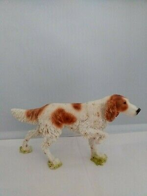 Irish Setter dog figure model Castagna hand made in Italy with certificate