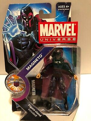"2010 HASBRO MARVEL UNIVERSE 3 3/4"" Magneto Ser 3 #026, FIGURE MOC"