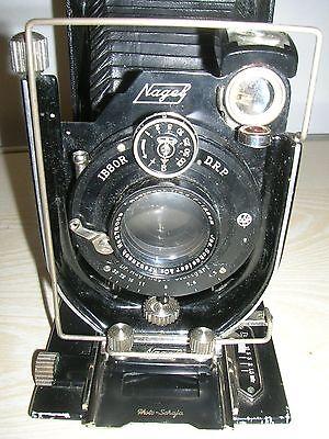 Klappkamera Nagel Stuttgart, Jos. Schneider & Co IBSOR , Kamera , Plattenkamera