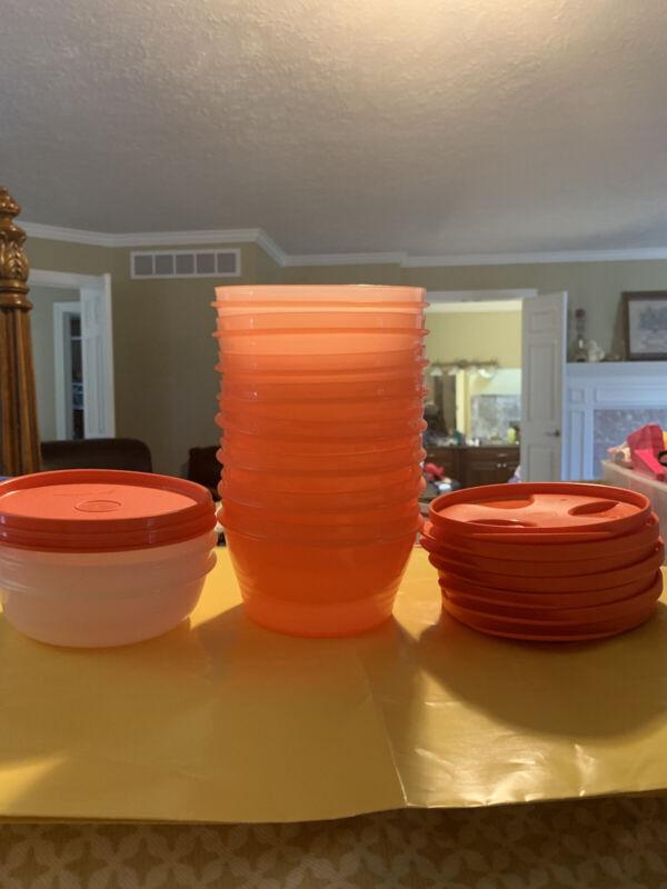 New! Tupperware Duo Bowls! 1 Cup & 2 Cup+Bonus Modular Bowls! 10 BOWLS!