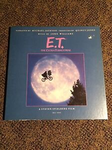 E.T. The Extra-terrestrial record box set (1982) Micheal Jackson
