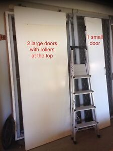 sliding doors from wardrobe not mirrored Macmasters Beach Gosford Area Preview