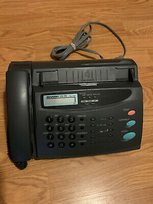 Sharp Ux-178 Telephonefax Machine