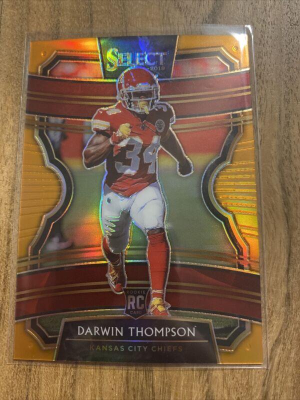 2020 Panini Prestige #58 Darwin Thompson Kansas City Chiefs Football Card