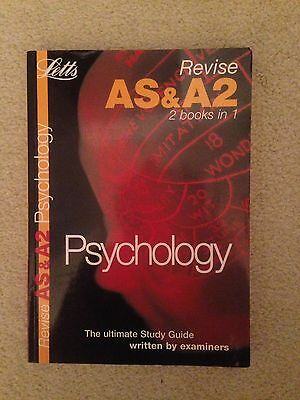 Psychology by Letts Educational (Paperback, 2005)