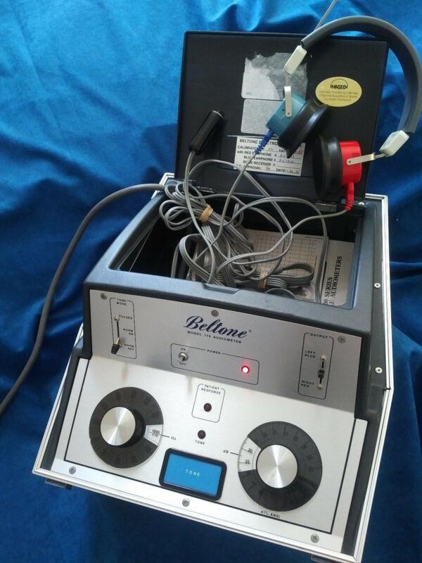 Beltone 119 Screening Audiometer w/Calibration