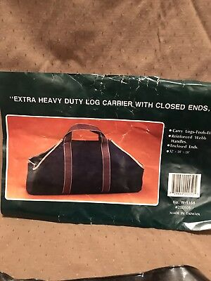 "Closed End Log ( Extra Heavy Duty Log Carriers With Closed Ends 32""L, Lot of 3 )"