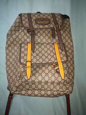 gucci backpack Unisex 100% Authentic Never Worn