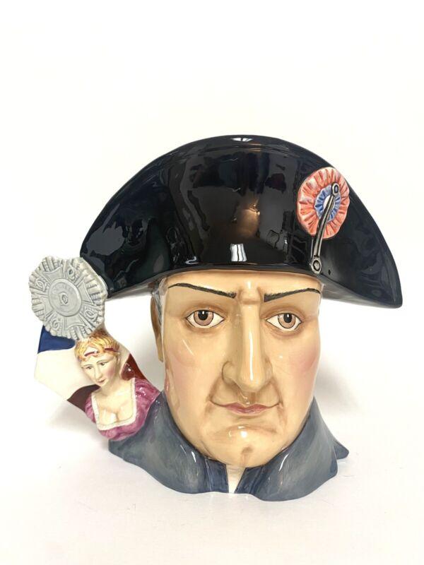 Royal Doulton Large Character Jug Napoleon Bonaparte HN7237 L. Edition 619/1500