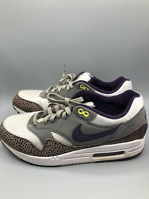 pretty nice c6fc7 0e4d8 Nike Air Max 1 Deadstock 308866-151 Purple Safari Atmos Size 10.5