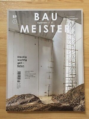 Baumeister Architektur Zeitschrift, Magazin B9 September 2017, 09/2017