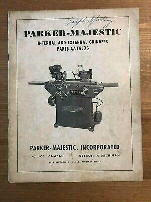 Parker-majestic Internal And External Grinders Parts