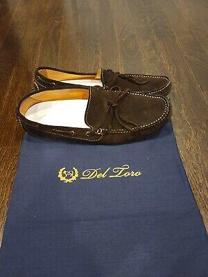 del toro men shoes Size 10 Loafer Moccasins