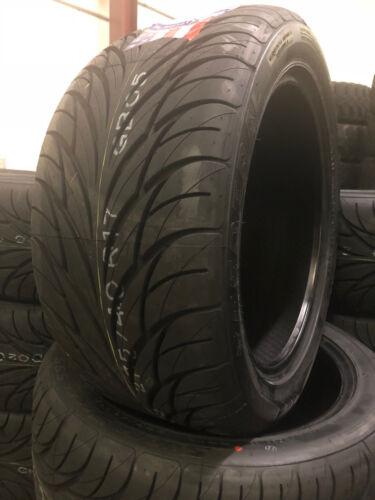 2 New 255/40r17 Federal Ss595 Tires 255 40 17 2554017 R17 High Peformance