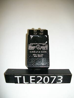 General Radio 509-k Standard Capacitor Tle2073