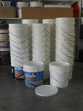 Plastic buckets (15 Litres) with lids Fitzgibbon Brisbane North East Preview