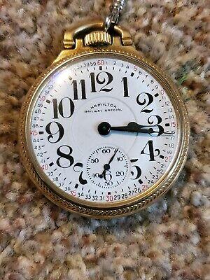 1952 Hamilton Railway Pocket Watch