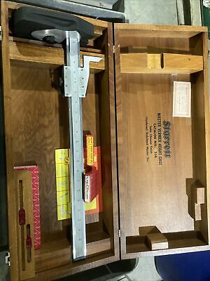 Starrett Master Vernier Height Gage No.254