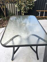 Free glass top outdoor table Little Grove Albany Area Preview