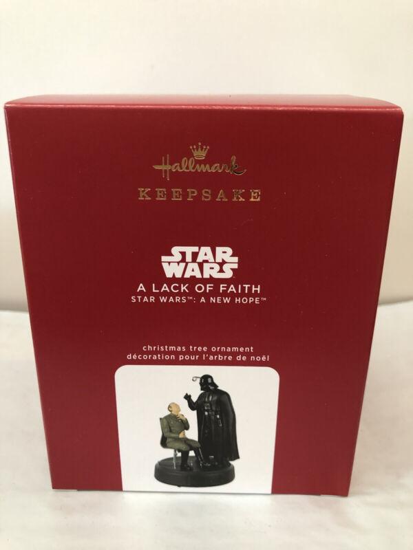 Hallmark Keepsake Ornament 2020 - Star Wars A New Hope ~A Lack Of Faith Ornament