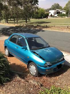 Mazda 121 1992 Damaged