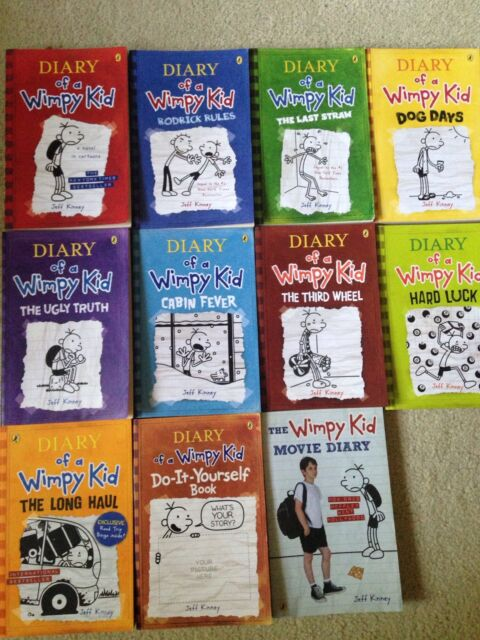 Diary of a wimpy kid books 1 9 movie diarydiy book childrens diary of a wimpy kid books 1 9 movie diarydiy book childrens books gumtree australia brisbane south east carina 1175640335 solutioingenieria Images