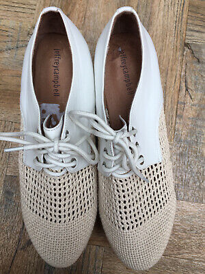 NEW Jeffrey campbell Curran Lace Ups Size 41/ 7.5