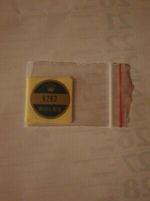 🛑A) 6262 Rolex vintage DAYTONA Sticker Aufkleber Etiqueta Adhesivo adesivo, usado comprar usado  Enviando para Brazil
