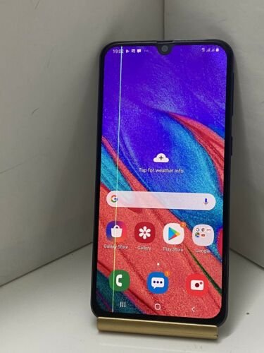 "Android Phone - SAMSUNG GALAXY A40 BLACK 64GB UNLOCKED ALL NETWORKS 5.9"" DUAL SMART PHONE PIXEL"