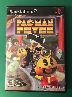 Pac-Man Fever (Sony PlayStation 2, 2002) PS2 Complete CIB