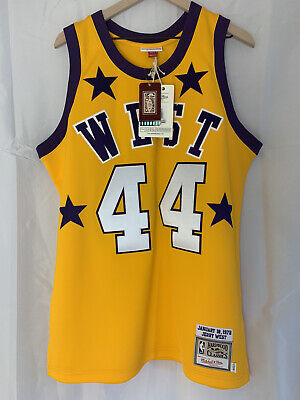 Authentic Mitchell & Ness 1972 Western Conference All Star jersey size 44 L BNWT
