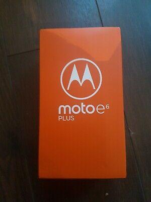 Motorola Moto E6 Plus - 32GB - Polished Graphite (Unlocked) + EXTRAS INCLUDED