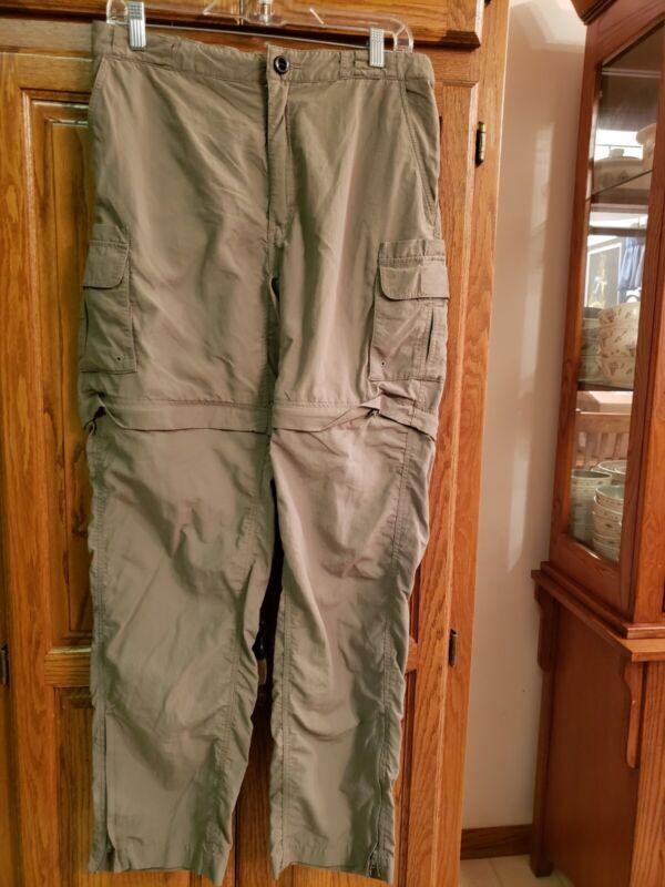Magellan Sportswear Women's Fish Gear Convertible Zip Off Pants  Sz MED