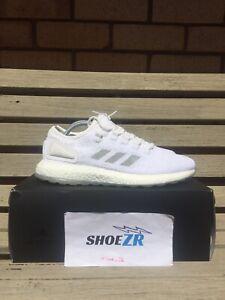 "Adidas Pure Boost x Sneakerboy x Wish ""Glow in the dark"" Triple White"