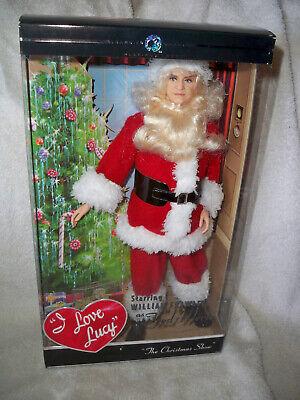 BARBIE 2009 I Love Lucy The Christmas Show Santa Fred Mertz PLATINUM NRFB read