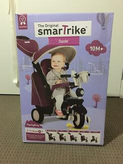 smarTrike Dazzle *NEW*  5-In-1 Trike - Purple/ toddler tricycle