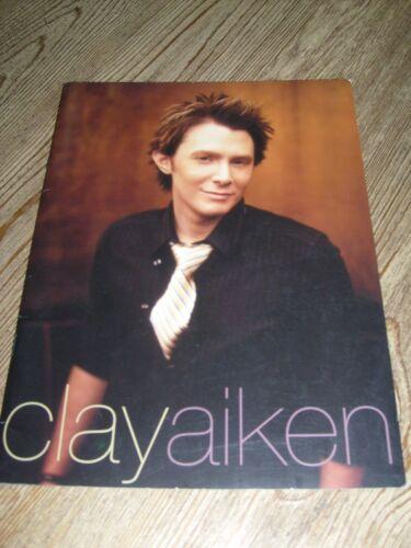 Clay Aiken Concert Tour Program 2004