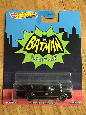 HOT WHEELS PREMIUM SERIES BATMAN CLASSIC TV SERIES BATMOBILE