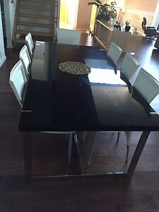 Nicks Scali Dinning Table, Chairs and buffet Coombs Molonglo Valley Preview