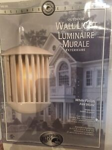 Two Exterior Wall Lights