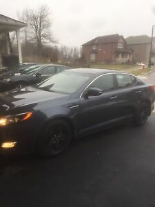 2015 Kia Optima EX Sedan - Winter Edition w/Black Winter Alloys