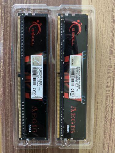 DDR4 Arbeitsspeicher 16GB Pc3000 + 8GB Pc3200 Gskill Aegis