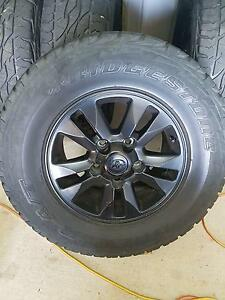 Toyota Land Cruiser Genuine wheels and tyres Morayfield Caboolture Area Preview